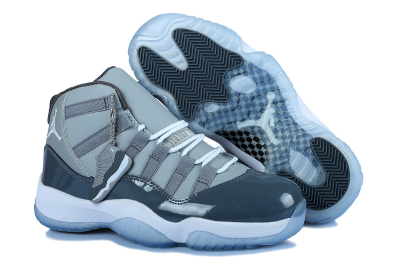 New Jordan 11 Grey For Women