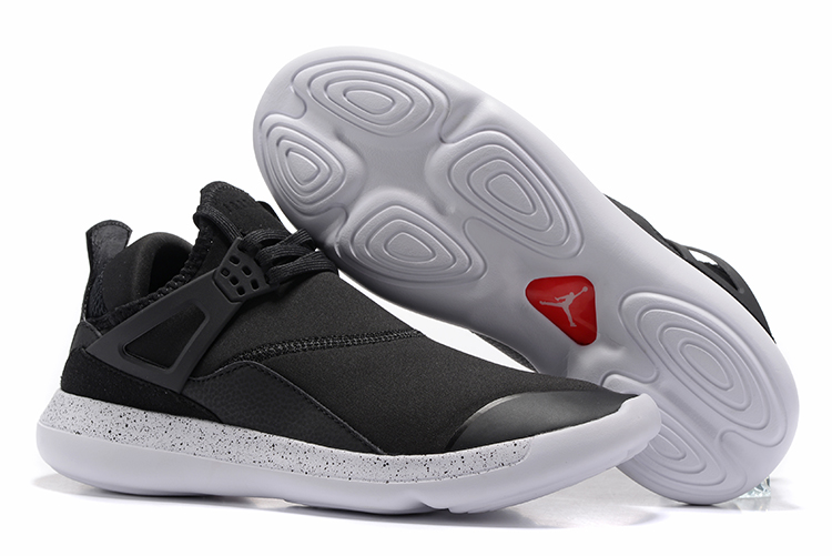 Cheap Air Jordans 4 Black White Running SHoes