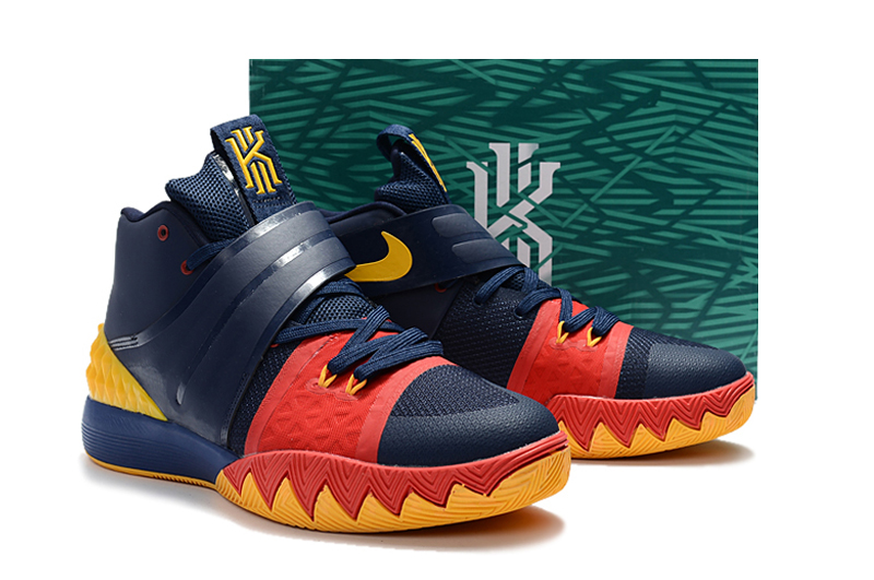 NIke Kyrie Irving S1 Dark Blue Red Shoes