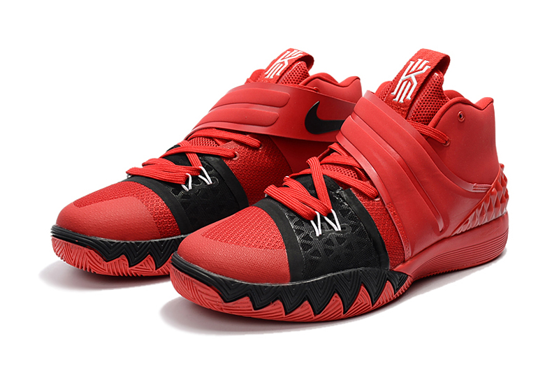 Nike Kyrie Irving S1 Red Black Shoes