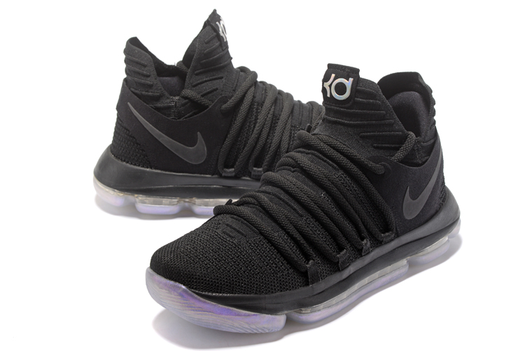 Nike Kevin Durant 10 All Black Shoes