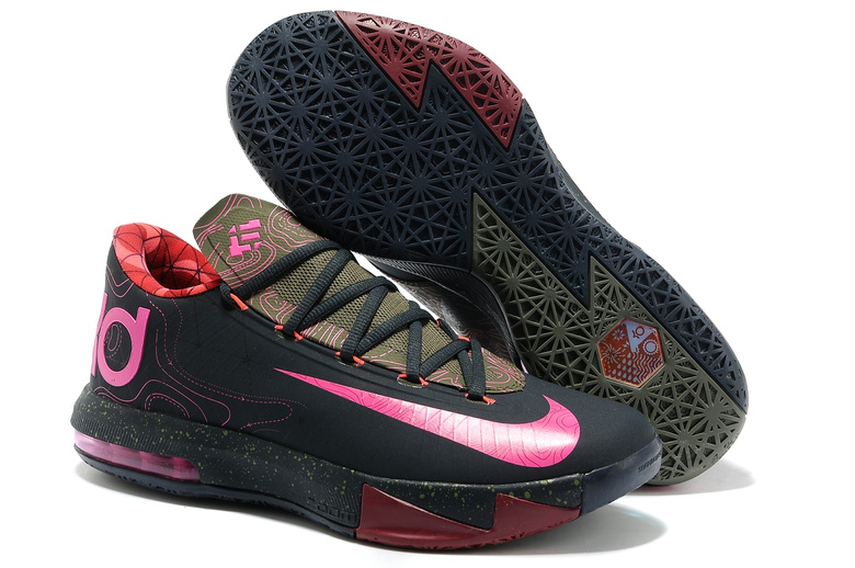 Durant shoes 6 pink
