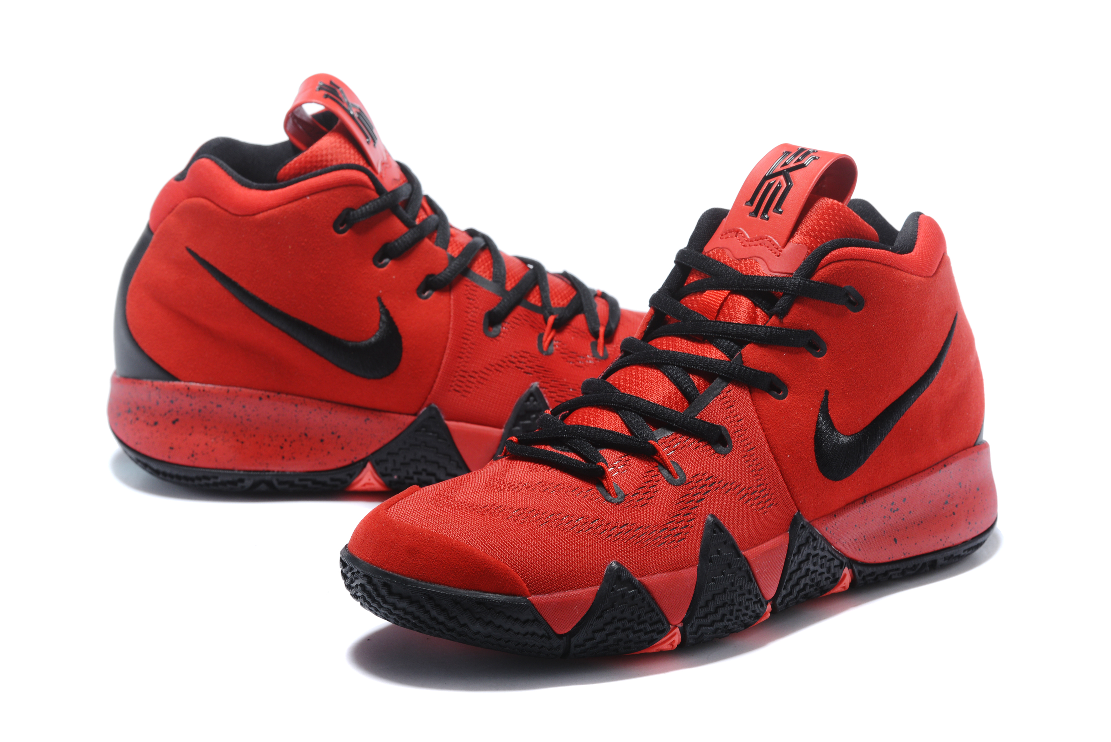 Nike Kyrie Irving 4 Red Black Shoes