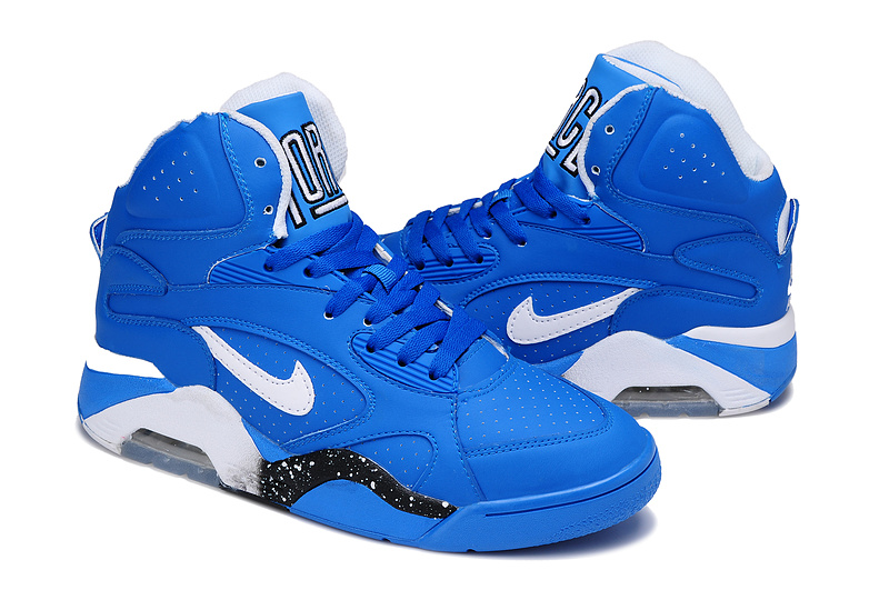 Nike Air Force 180 Mid Blue White Black Shoes