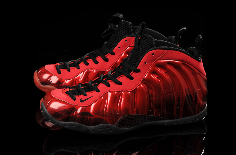 Nike Air Formposite One Red Black Shoes