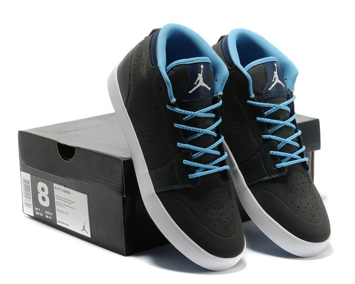 Nike Air Jordan V.1 Chukka Black Blue White Shoes