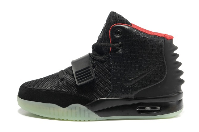 2013 Air Yeezy 2 Black Shoes