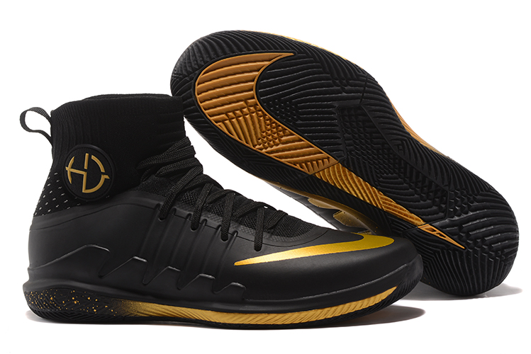 Nike Hyperdunk Green 3 Black Gloden Shoes
