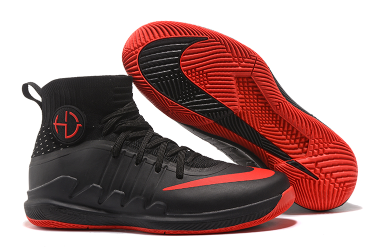 Nike Hyperdunk Green 3 Black Red Shoes