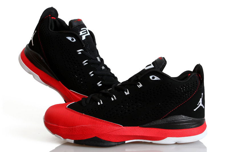 Nike Jordan CP3 7 Black Red White Shoes