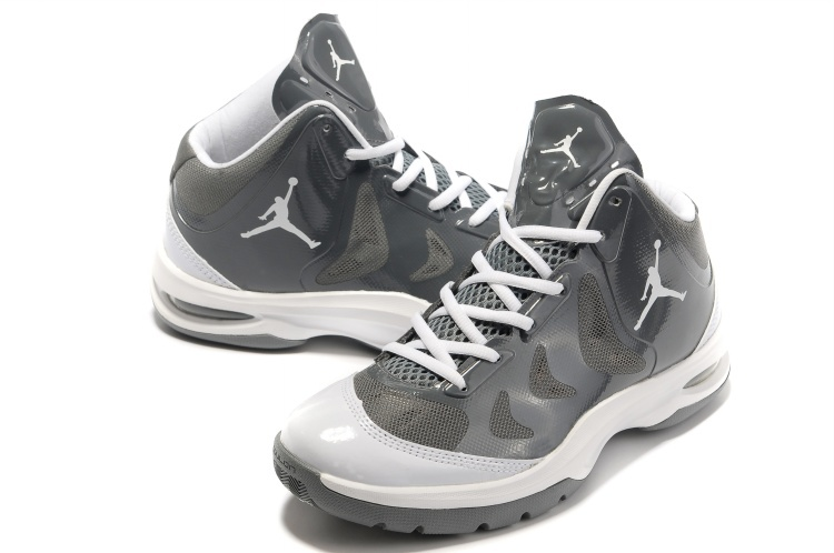 Nike Jordan Play In These Grey White Basketball Shoes