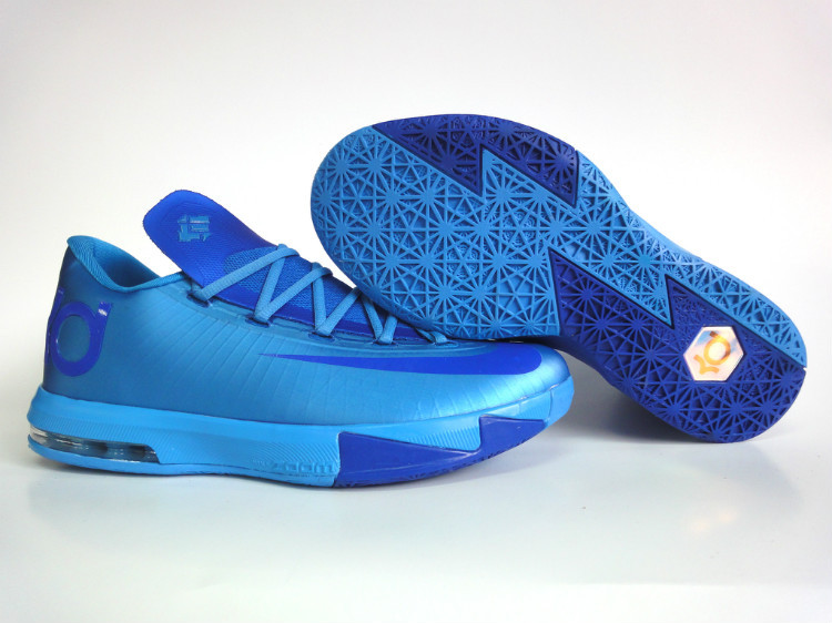 Nike Kevin Durant 6 All Blue Shoes