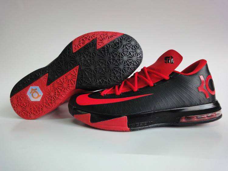 Nike Kevin Durant 6 Black Red Shoes
