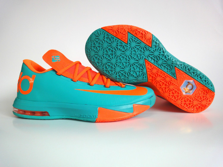Nike Kevin Durant 6 Blue Orange Shoes