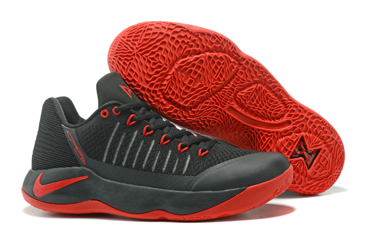 Paul George 2 Black Red Shoes On Sale