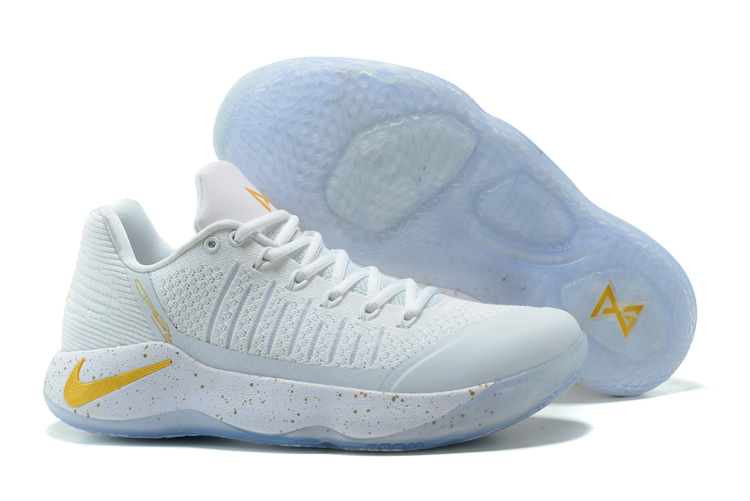 Paul George 2 White Gloden Shoes On Sale