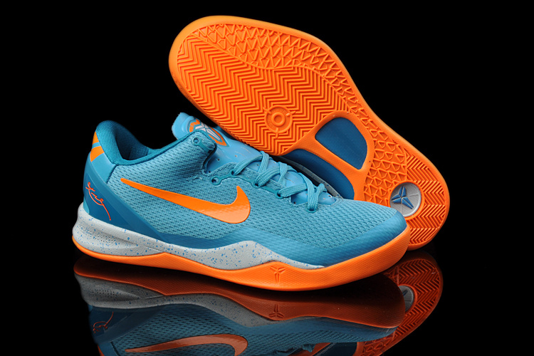 Official Nike Kobe Bryant 8 Blue Orange For Women