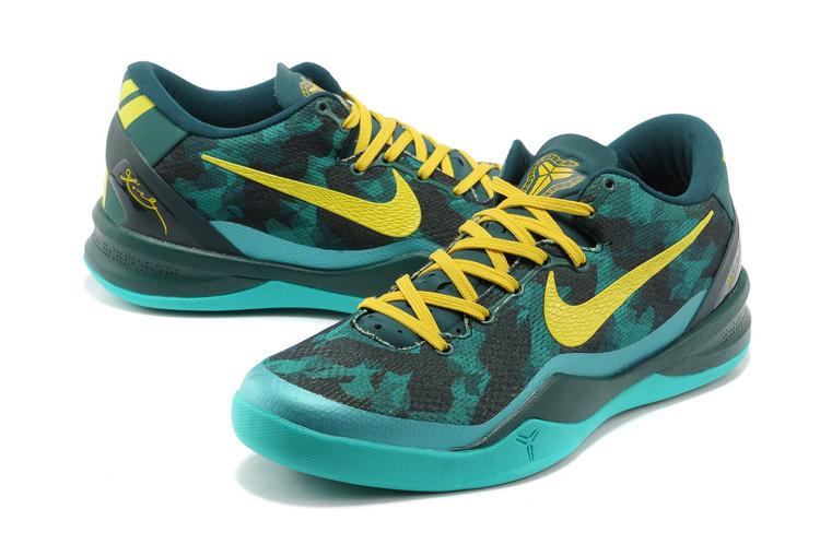 hot sale online ab633 7a7a1 Nike Kobe Bryant 8 Black Blue Yellow