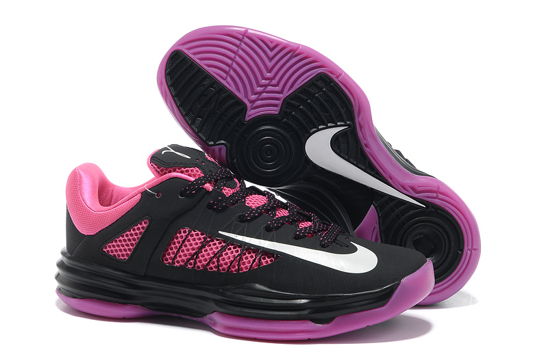 Olympic Lebron James Low Shoes Black Pink For Women
