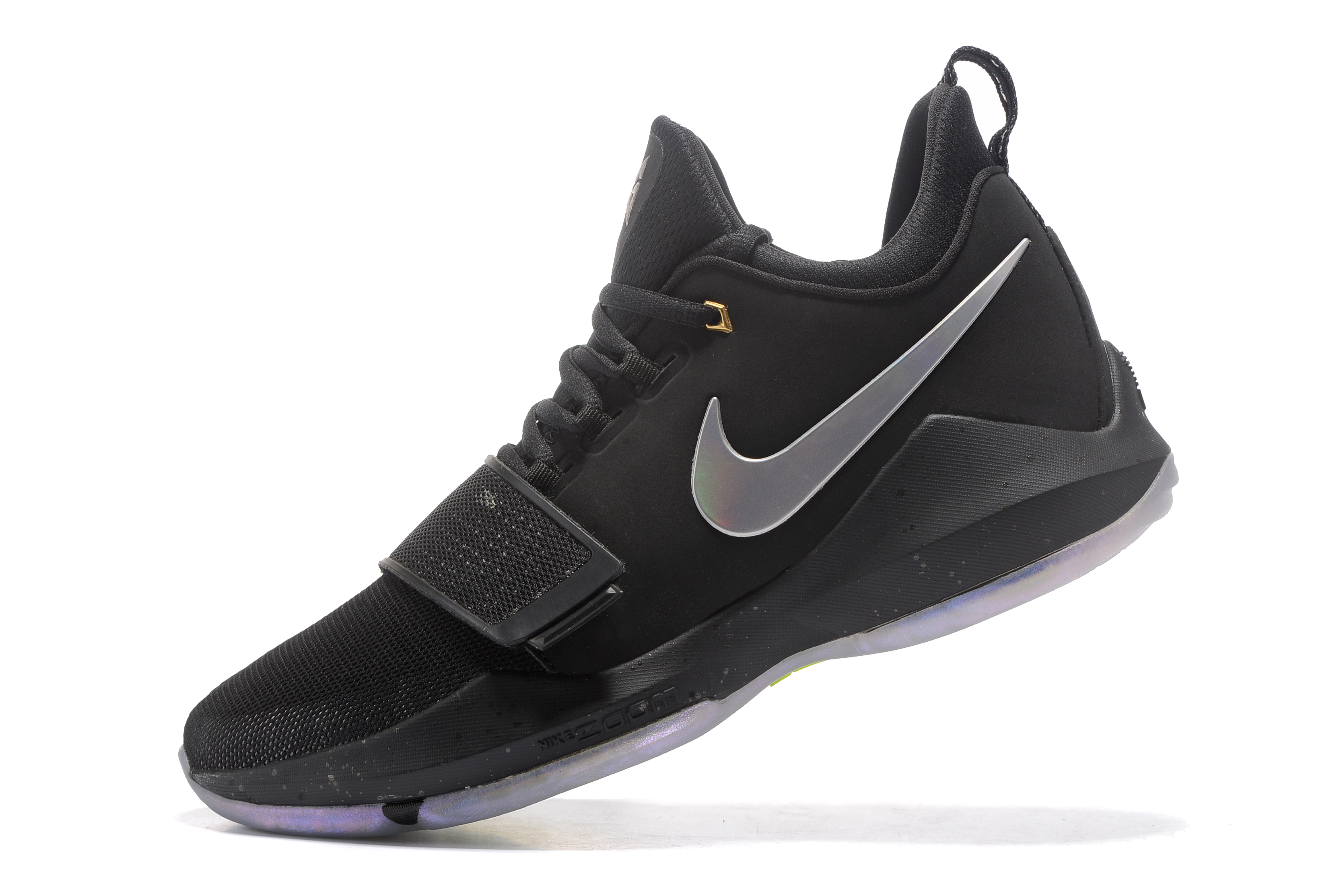 Paul George 1 Black Colors Shoes On Sale