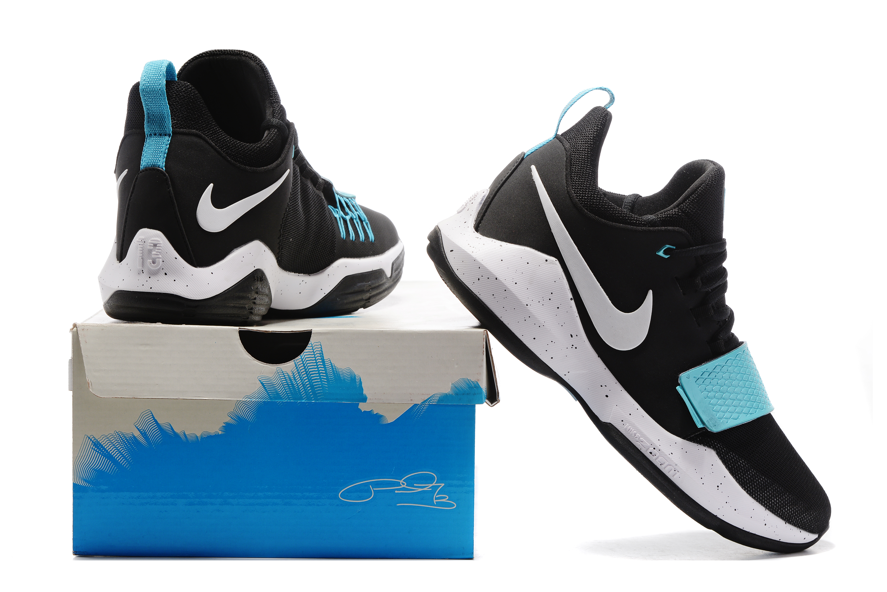 Paul George 1 Black Jade Shoes On Sale