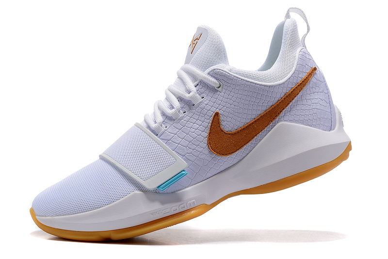 Paul George 1 Ivy White Shoes On Sale