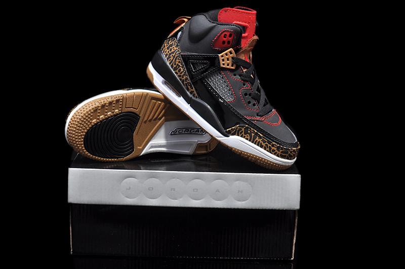 Womens Jordan 3.5 Black Brown White Shoes