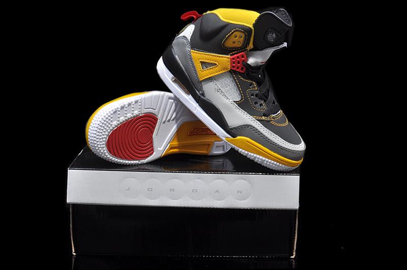Womens Black Grey Yellow Shoes