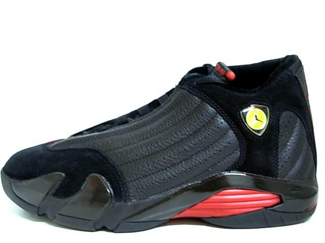 Air Jordan XIV Final Last Shot Black Varsity Red