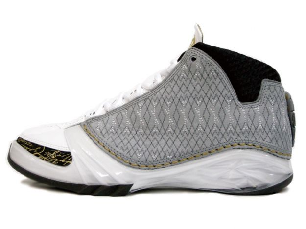 Air Jordan XXIII White Stealth Black Metallic Gold