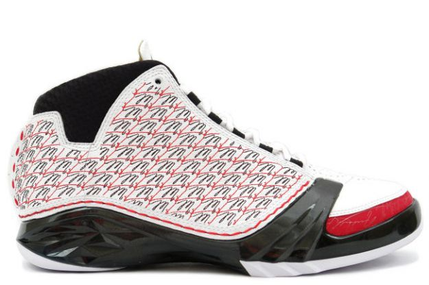 air jordan XXIII all stars white black varsity red