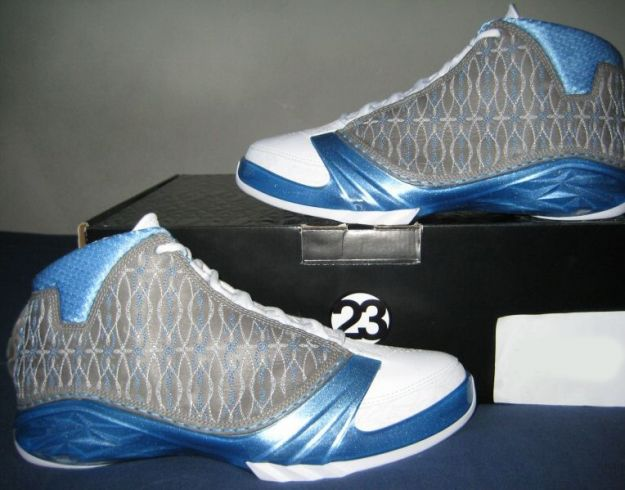 air jordan XXIII premier white titanium university blue