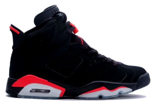 discount air jordan VI retro black deep infrared