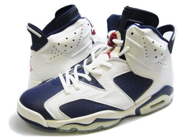 discount air jordan VI retro olympic midnight navy varsity red white